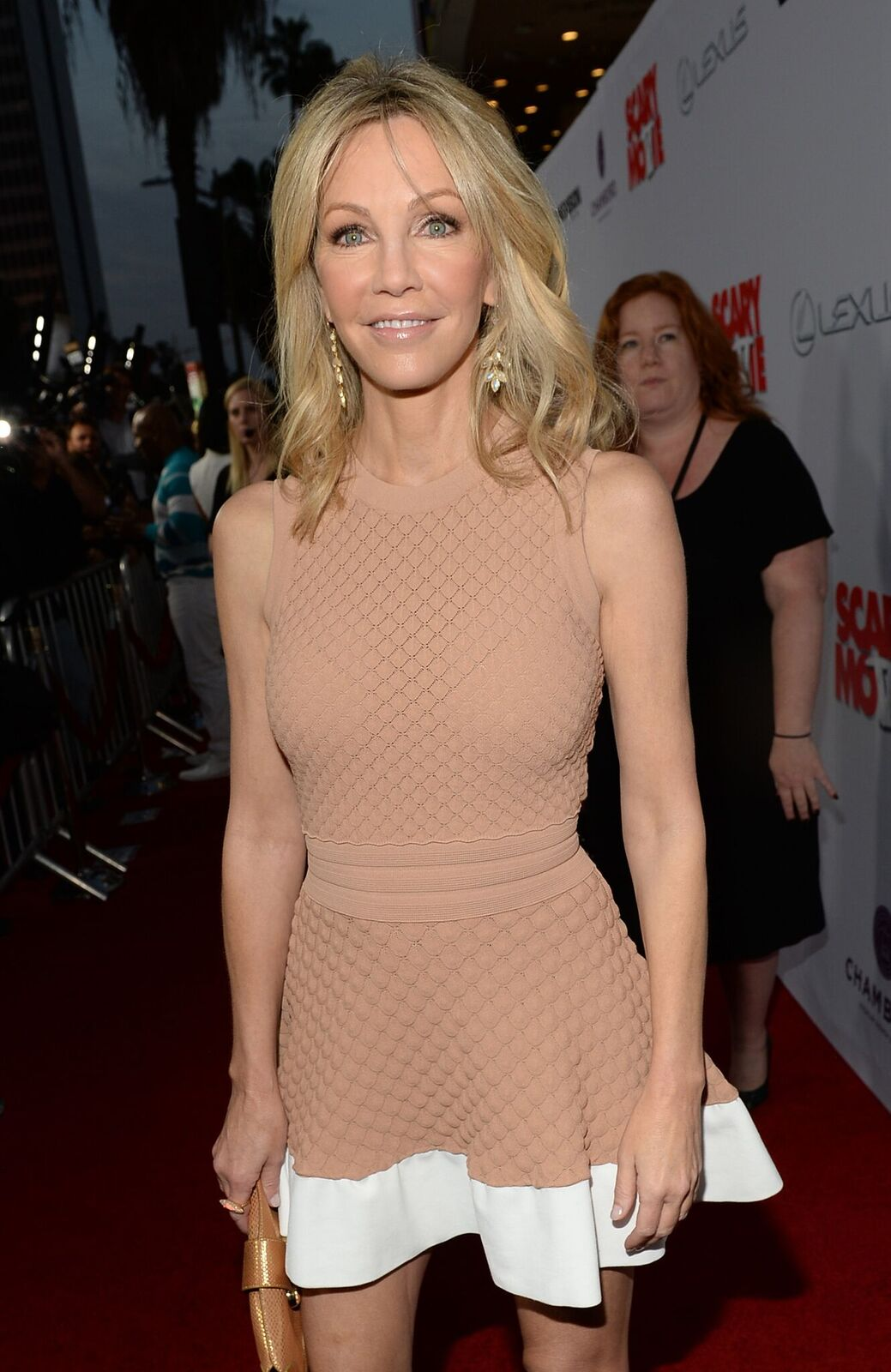 """Heather Locklear at the premiere of """"Scary Movie 5"""" on April 11, 2013 