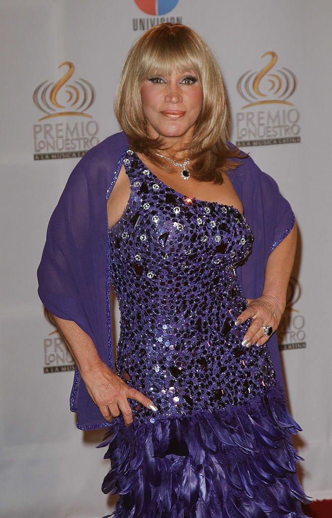 Laura León en el Premio Lo Nuestro a La Música Latina el 16 de febrero de 2012 en Miami, Florida. | Imagen: Getty Images