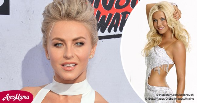 Julianne Hough flaunts raw makeup-free face comparing it to her 'fake tan' years