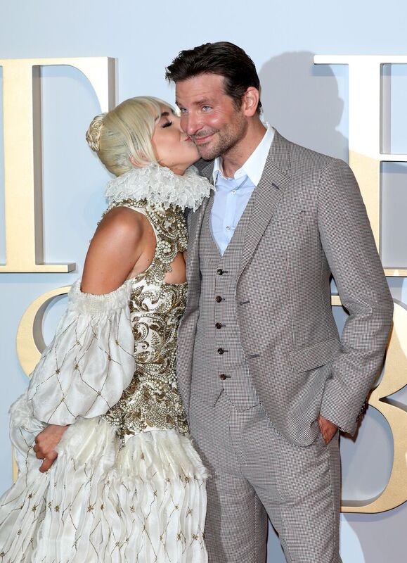 Bradley Cooper and Lady gaga at the UK Premier of A Star Is Born. Image credit: Getty/Global Images Ukraine