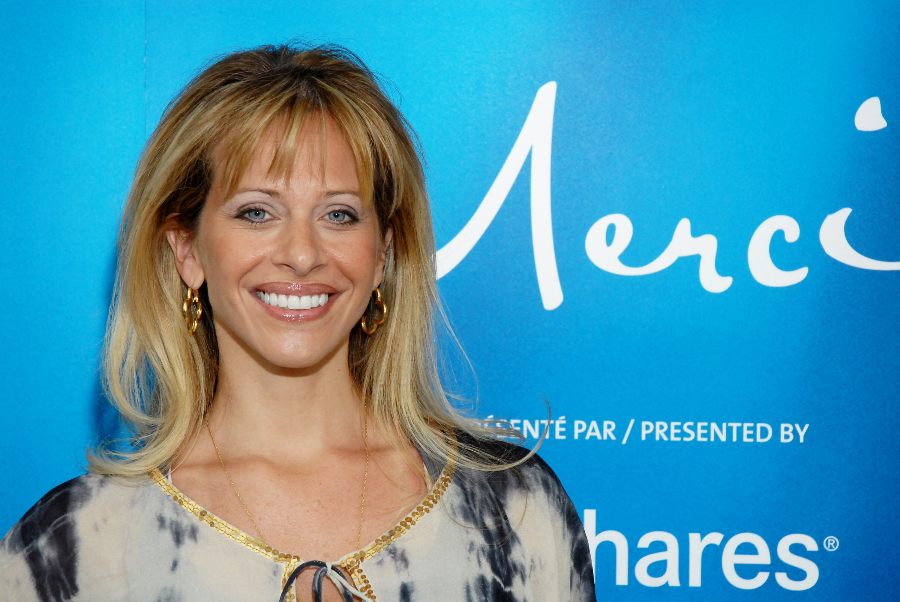 """Reality star Dina Manzo visits Cirque du Soleil's """"Alegria"""" at the Prudential Center July 15, 2009 in Newark, New Jersey 