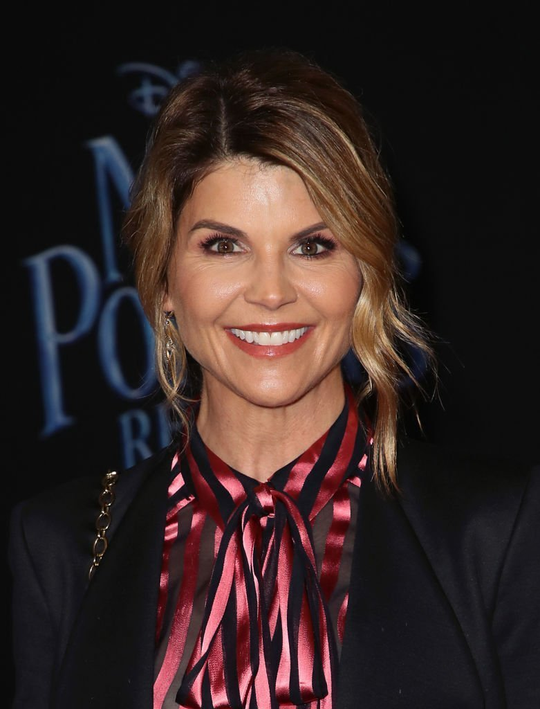 """Lori Loughlin attends the premiere of Disney's """"Mary Poppins Returns"""" at the El Capitan Theatre 