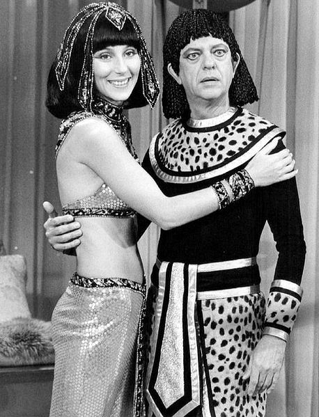 "Cher and Don Knotts from the television program ""The Sonny and Cher Show."" 