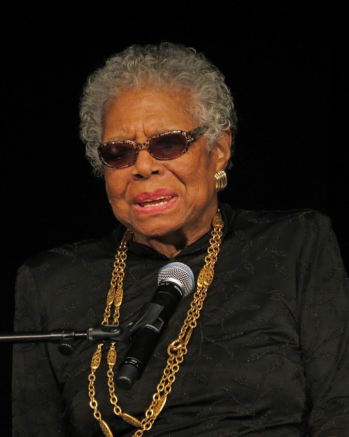 Angelou at York College in February 2013. | Source: Wikimedia Commons Images