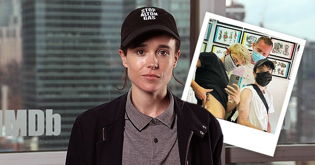 'Umbrella Academy' Star Elliot Page and Mae Martin Get Matching Tattoo – See Fans' Reactions