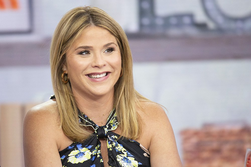 """Jenna Bush Hager at the set of the """"Today"""" show in June 2019. I Image: Getty Images."""