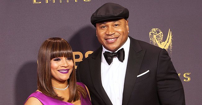 LL Cool J's Wife Simone Shows off Her Eyebrows & Blue Lipstick While Launching New Jewelry in Pic