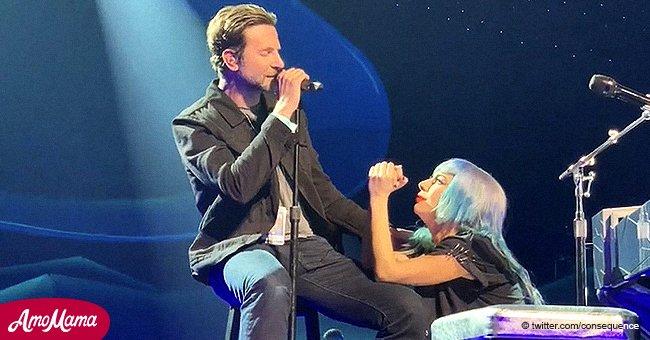 """Lady Gaga y Bradley Cooper encantan a los fans con la primera presentación en vivo de """"Shallow"""""""