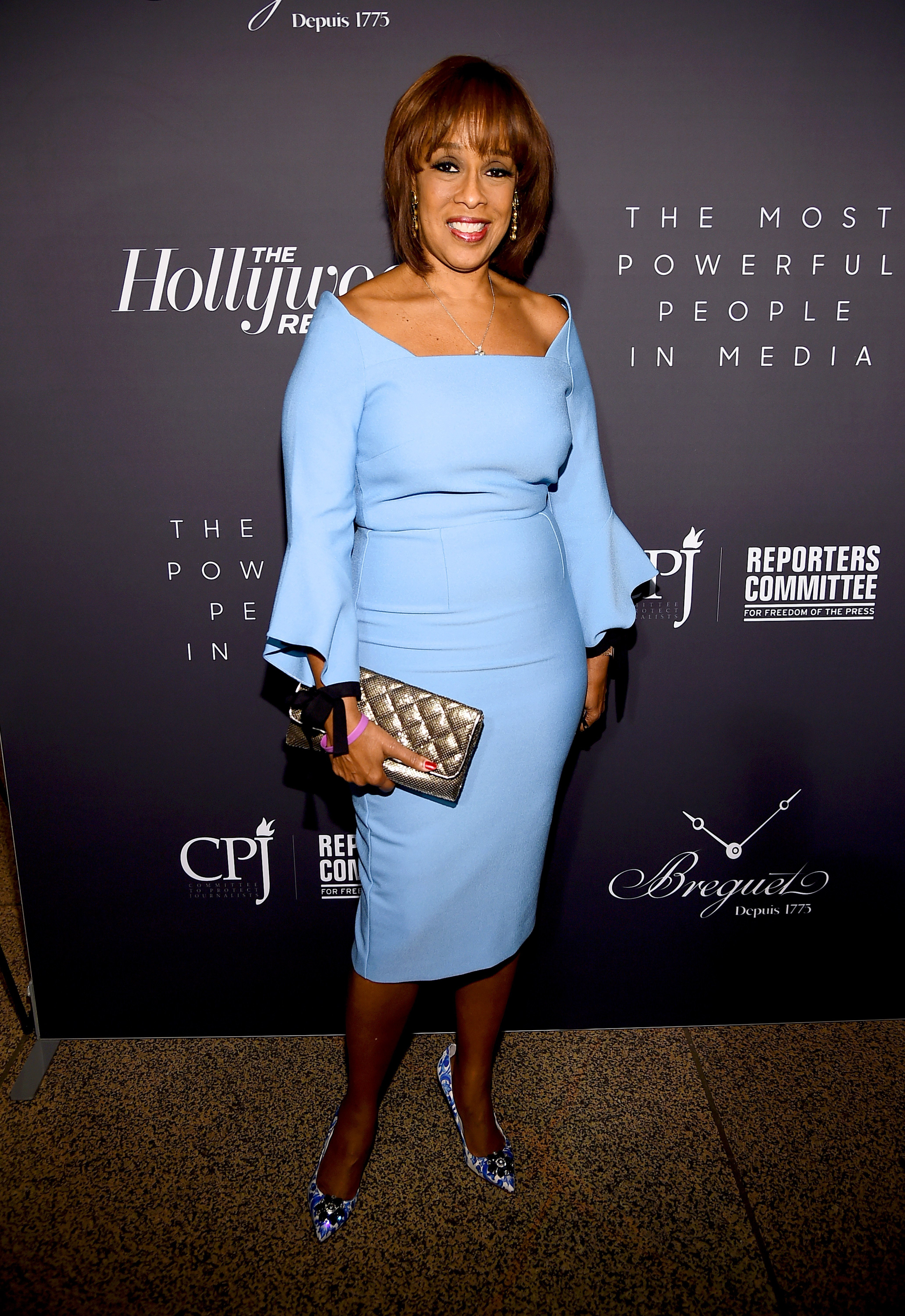 Gayle King attending The Hollywood Reporter's 9th Annual Most Powerful People in Media in April 2019. | Photo: Getty Images