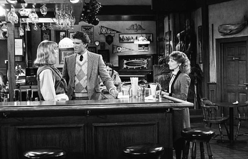 Laurie Walters on Cheers. Image Credit: Getty Images