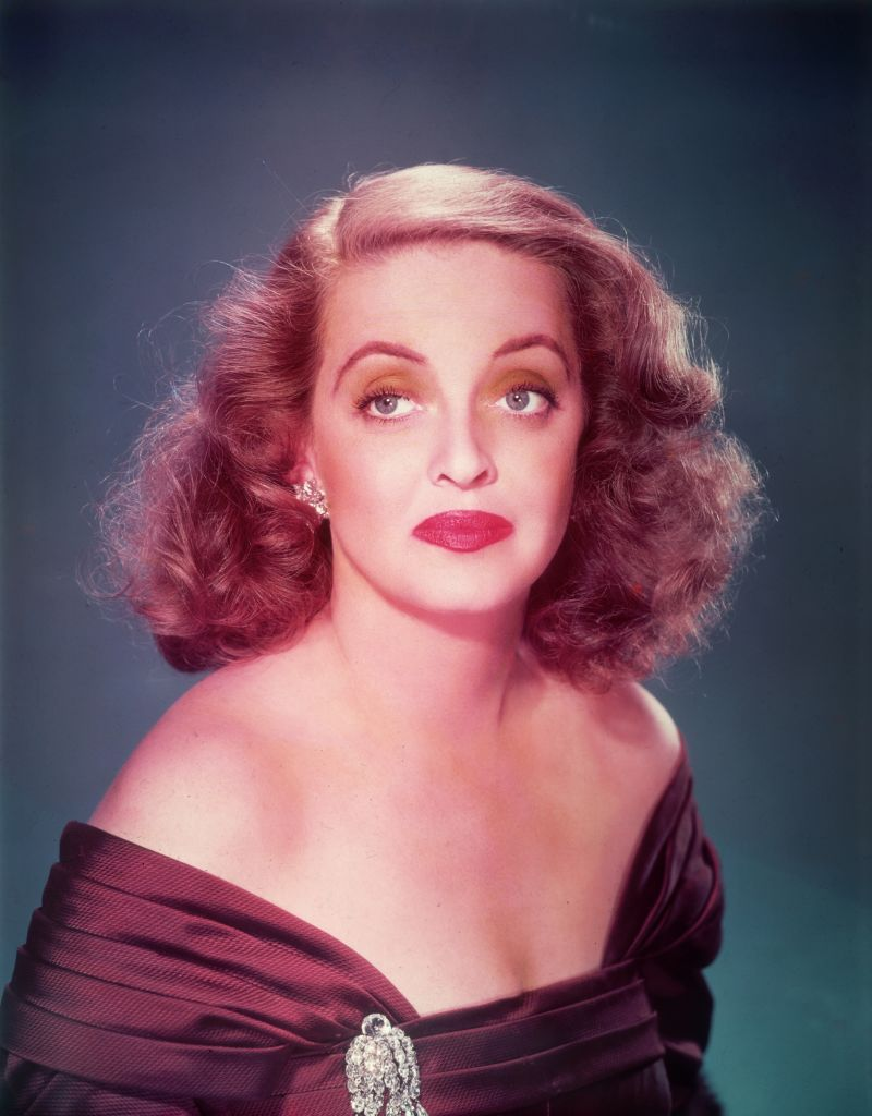 "Bette Davis (1908 - 1989) in a promotional photo for the film, ""All About Eve,"" 1950. 
