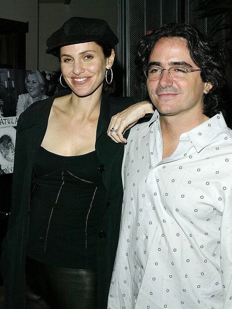 Amy Brennerman and Brad Siberling arrive at a party to celebrate the 100th episode at White Lotus | Getty Images
