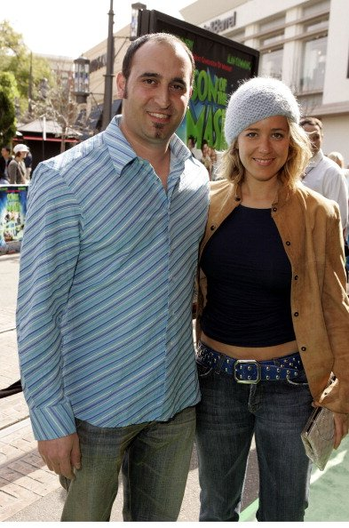 Lance Khazel and Becky Blasband at The Grove in Los Angeles, California, United States, image created in 2005. | Photo: Getty Images
