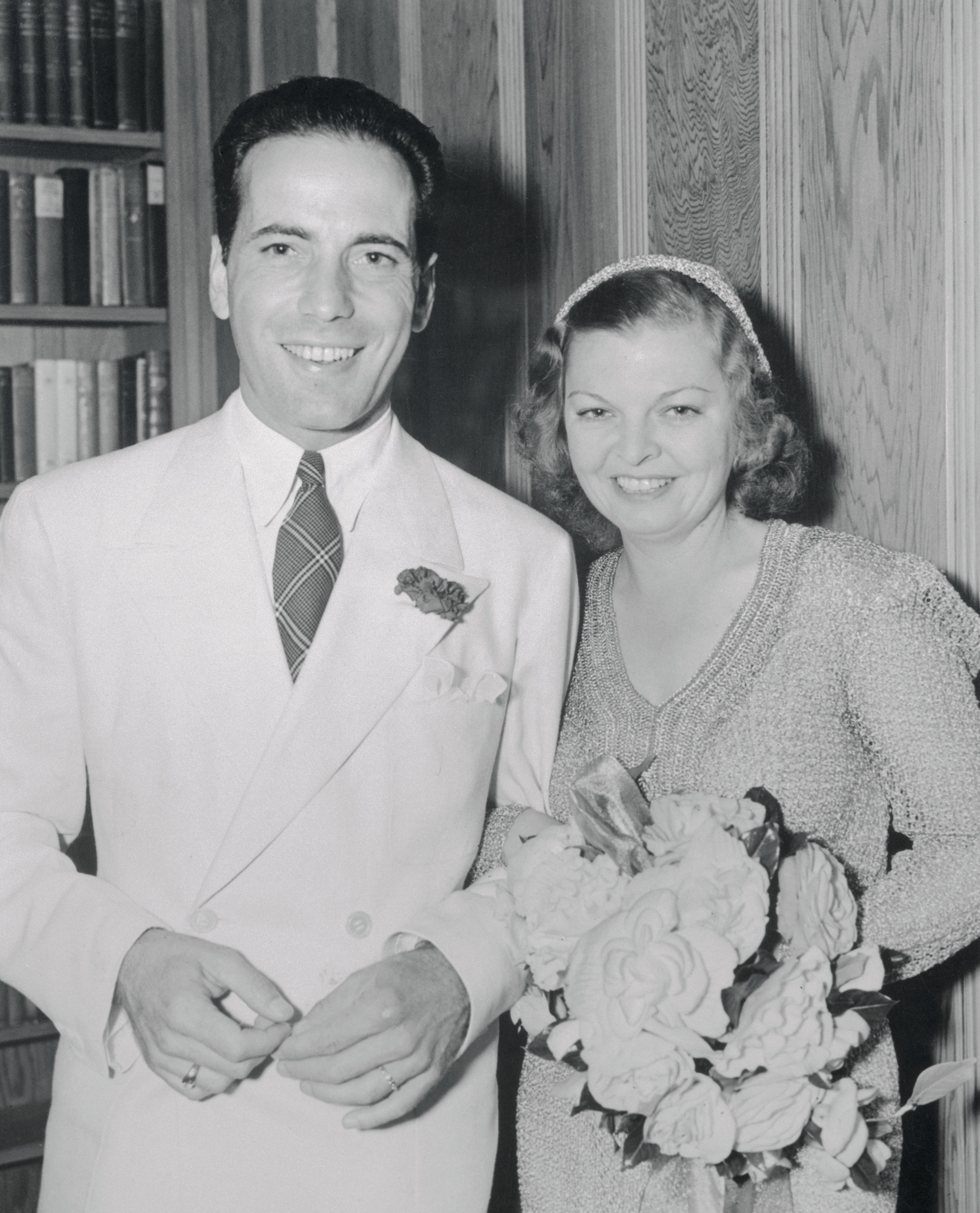 Humphrey Bogart and Mayo Methot shortly after their marriage. | Photo: Getty Images