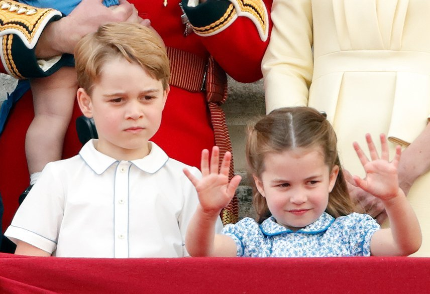 Princess Charlotte waves to the crowd at Trooping the Color in June 2019 | Photo: Getty Images