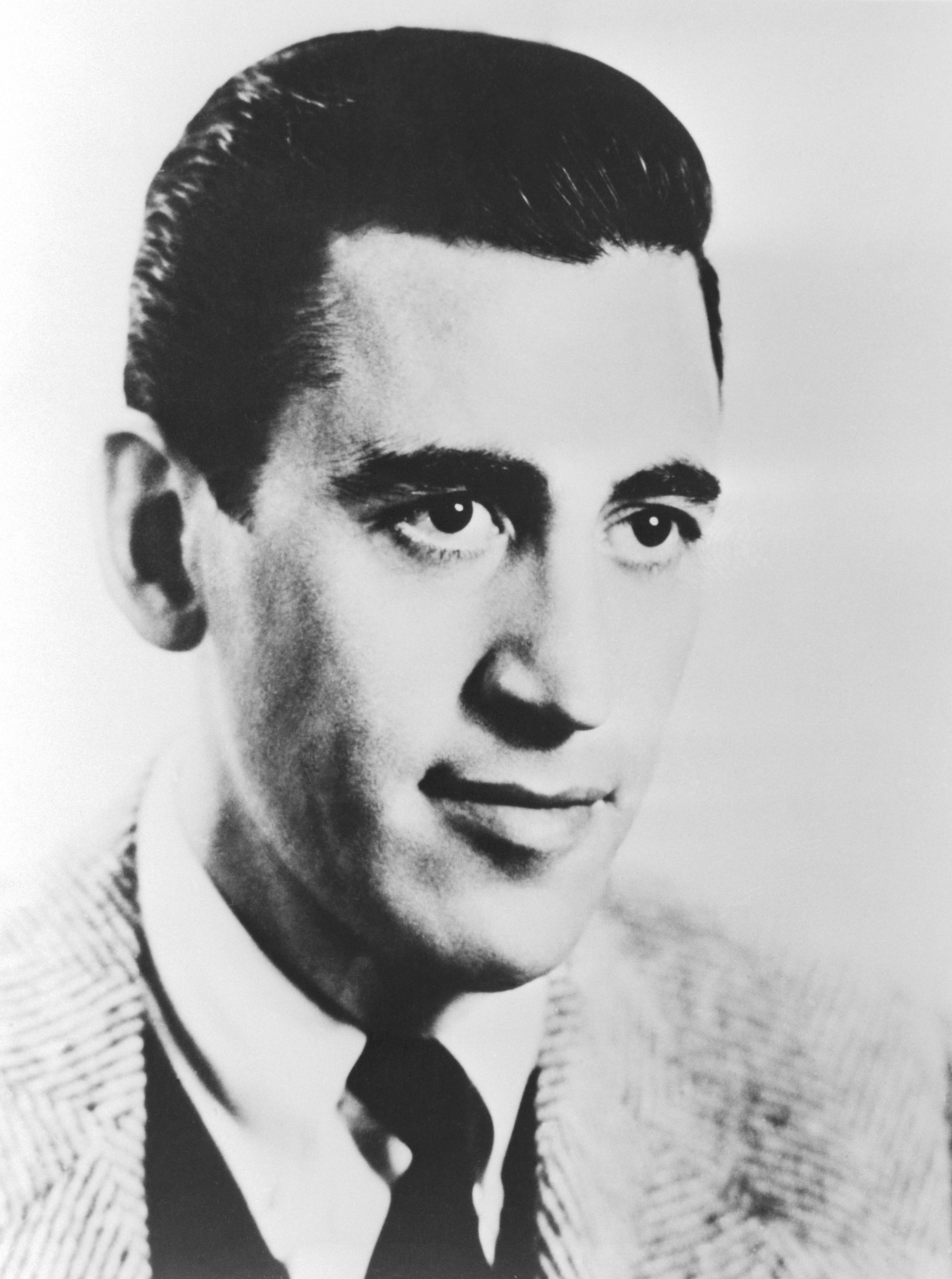 """""""Catcher in the Rye"""" author J.D. Salinger circa January 1951.   Source: Getty Images"""