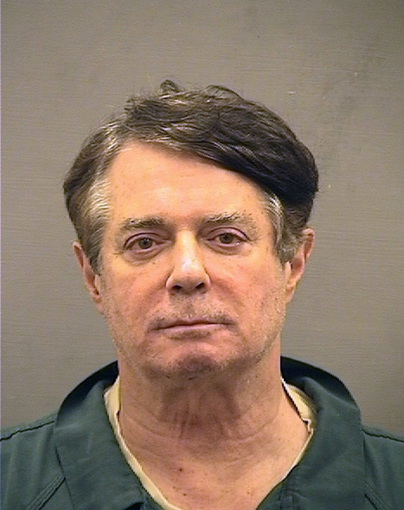 Paul Manafort's mugshot at the Alexandria Detention Center in Alexandria, Virginia | Photo: Getty Images