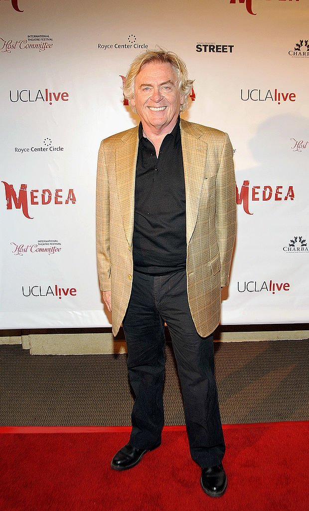 "Daniel Davis at the Opening Night of ""Medea"" on the campus of the University of California, September 23, 2009 