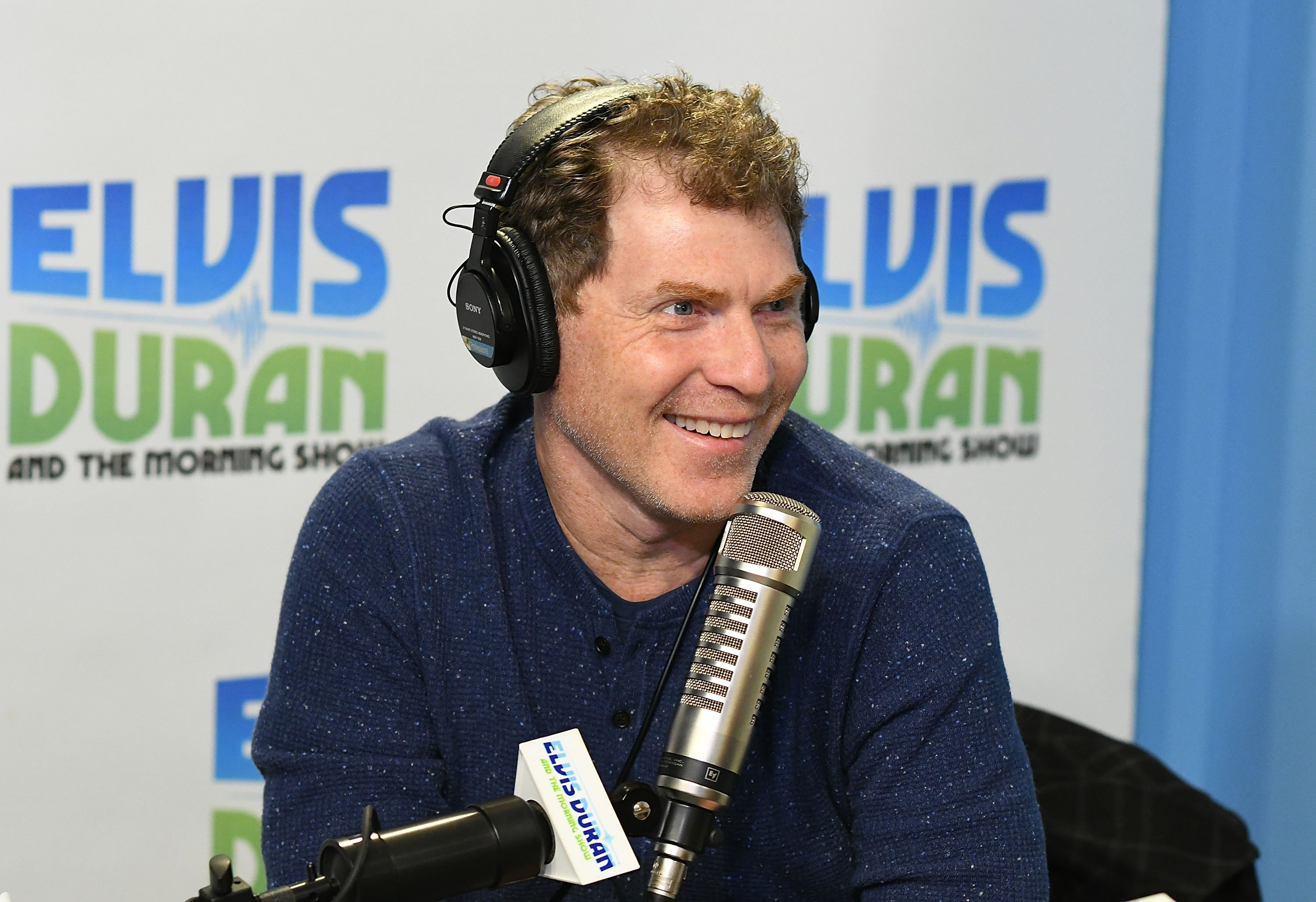 """Bobby Flay visits """"The Elvis Duran Z100 Morning Show,"""" 2017, New York City. 