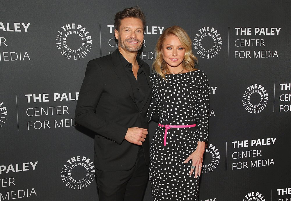 """Ryan Seacrest and Kelly Ripa attending The Paley Center For Media Presents: An Evening with """"Live with Kelly and Ryan"""" in New York City, in March 2020. I Image: Getty Images."""