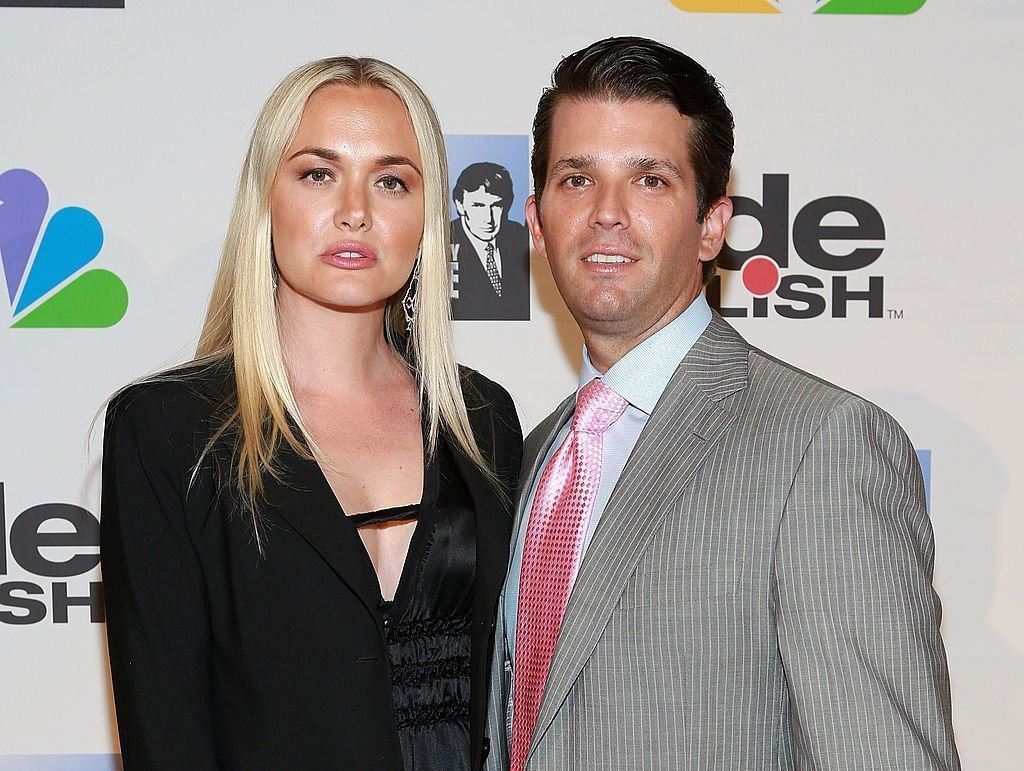 "Vanessa Trump (L) and Donald Trump Jr. attend ""All Star Celebrity Apprentice"" Finale at Cipriani 42nd Street . 