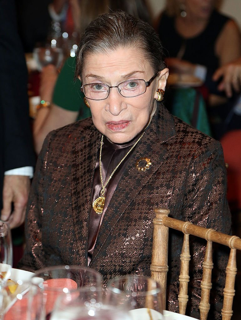 Justice Ruth Bader Ginsburg attends Richard Tucker Music Foundation's 38th annual gala. | Photo: Getty Images
