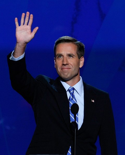 Delaware Attorney General Beau Biden, on stage during day three of the Democratic National Convention (DNC).| Photo:Getty Images