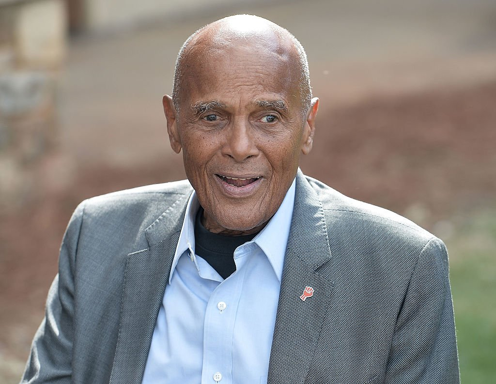 Harry Belafonte attends 2016 Many Rivers To Cross Festival at Bouckaert Farm on October 2, 2016.   Photo: Getty Images