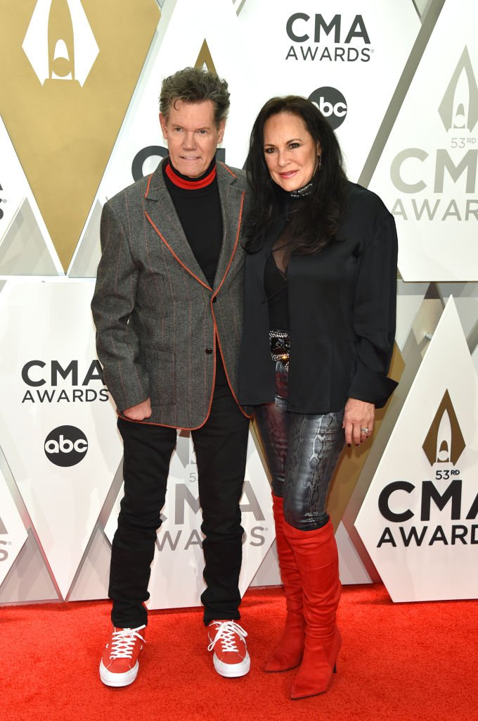 Randy Travis and Mary Travis attend the 53rd annual CMA Awards at the Music City Center | Source: Getty Images