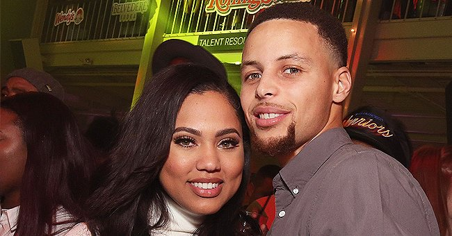 Ayesha Curry Shows Adorable Son Canon with His 1st Haircut as He Poses with Dad Steph (Photo)
