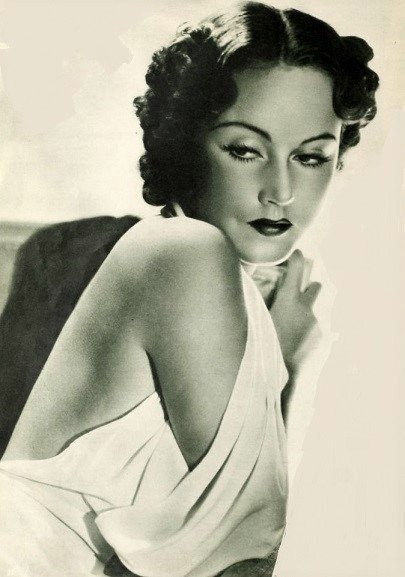 A picture of Fay Wray circa 1935. | Source: Wikimedia Commons