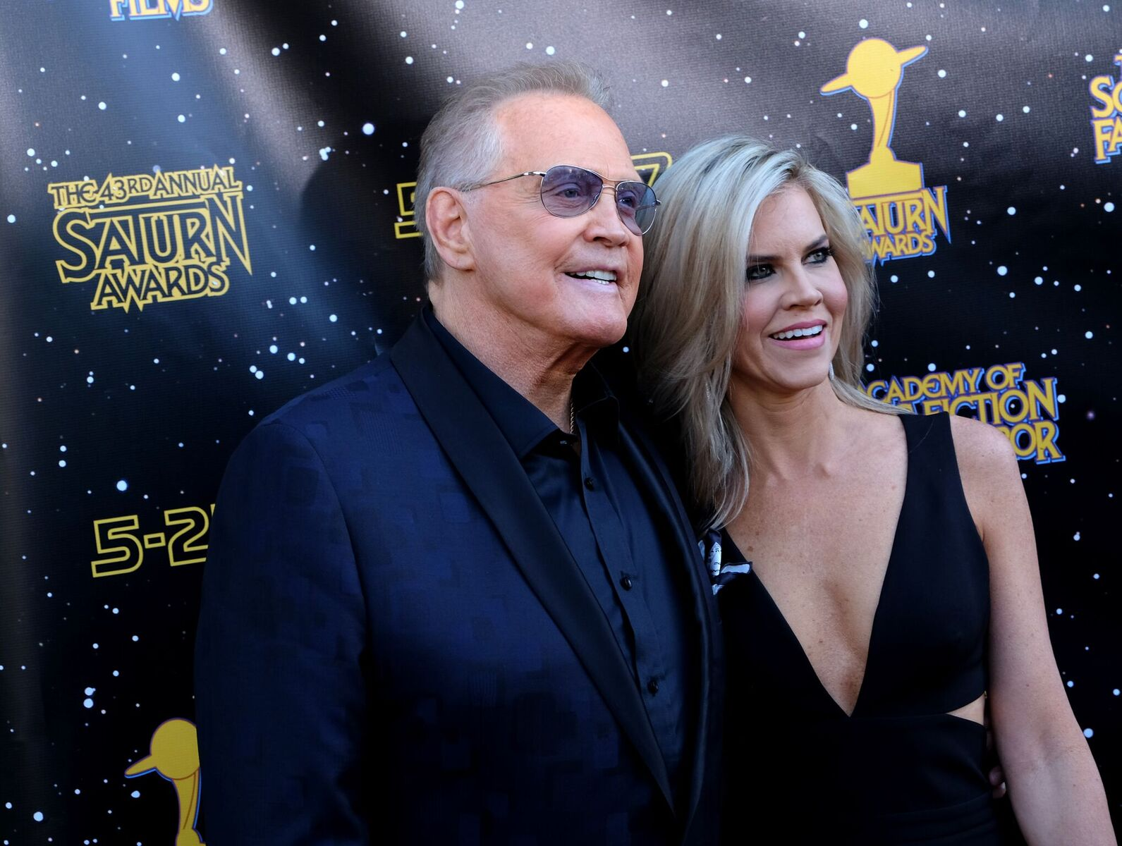 Lee Majors and Faith Majors attend the 43rd Annual Saturn Awards at The Castaway on June 28, 2017 in Burbank, California | Photo: Getty Images