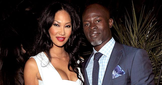 Kimora Lee Simmons & Djimon Hounsou Reportedly in Custody Fight over Son Kenzo