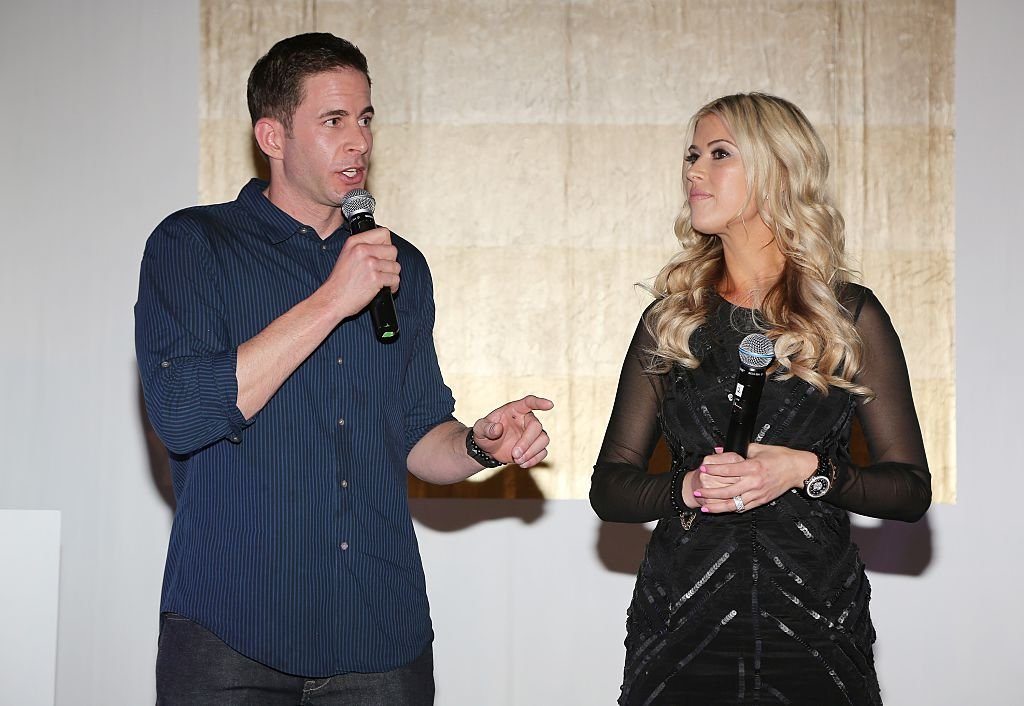 "Christina & Tarek El Moussa of HGTV's ""Flip or Flop"", new North American brand ambassadors, attend the TREND Group and Granite Transformations global rebranding and ""Immense"" product collection launch event at Temple House 