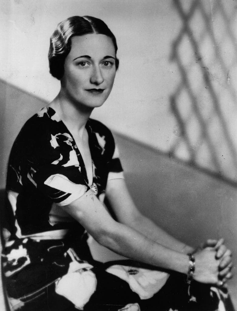American socialite Wallis Simpson in 1937 | Source: Getty Images