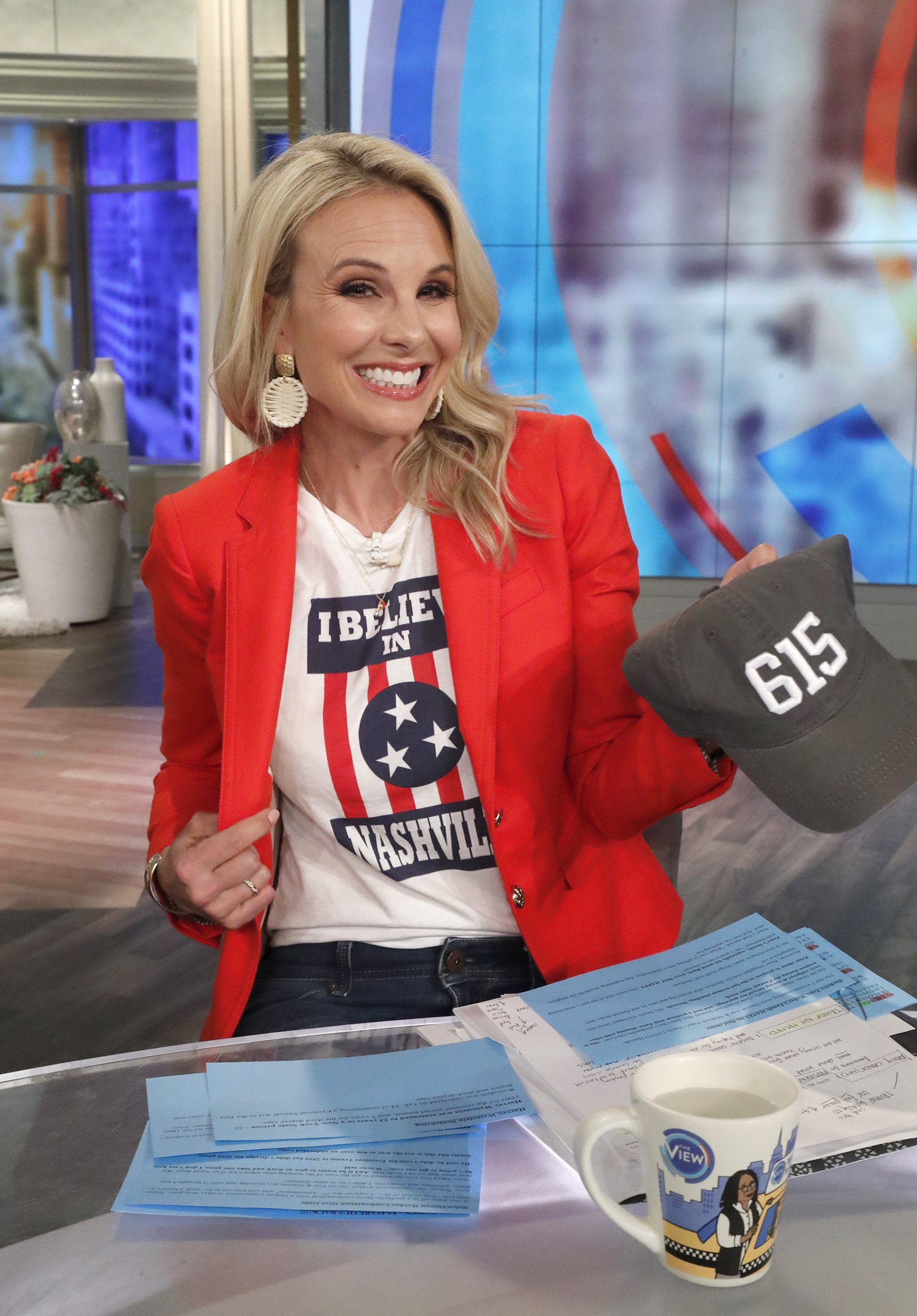 "Elisabeth Hasselbeck on ""The Talk"" shooting without an audience due to concerns over coronavirus on Wednesday, March 11, 2020 