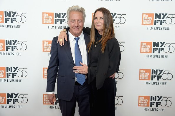 Dustin Hoffmand and Lisa Hoffman attend the New York Film Festival premiere of The Meyerowitz Stories (New and Selected) at Alice Tully Hall on October 1, 2017, in New York City. | Source: Getty Images.