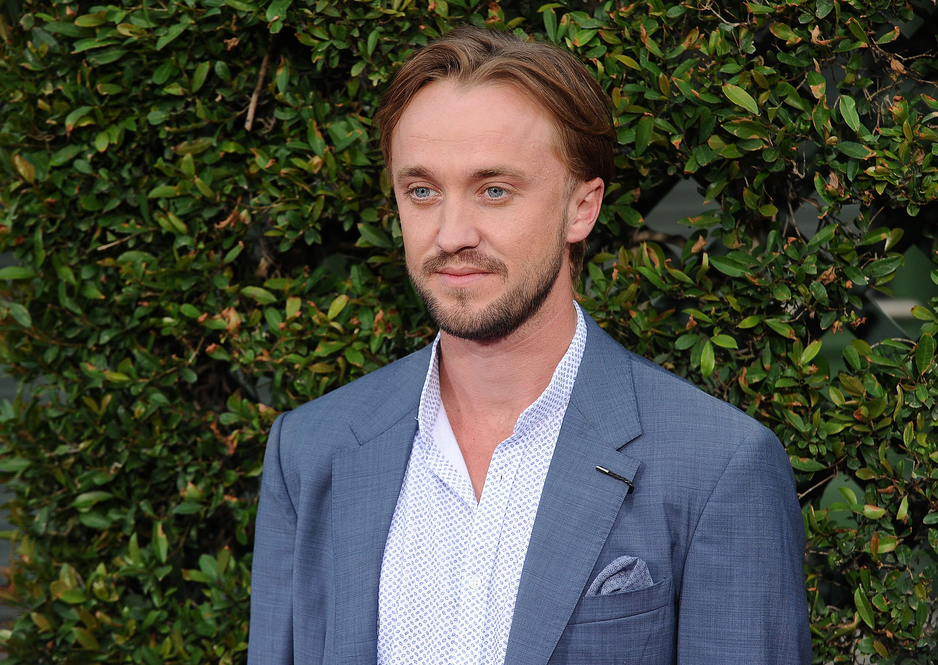 """Tom Felton attends the opening of """"The Wizarding World of Harry Potter"""" at Universal Studios Hollywood on April 5, 2016 in Universal City, California   Photo: Getty Images"""