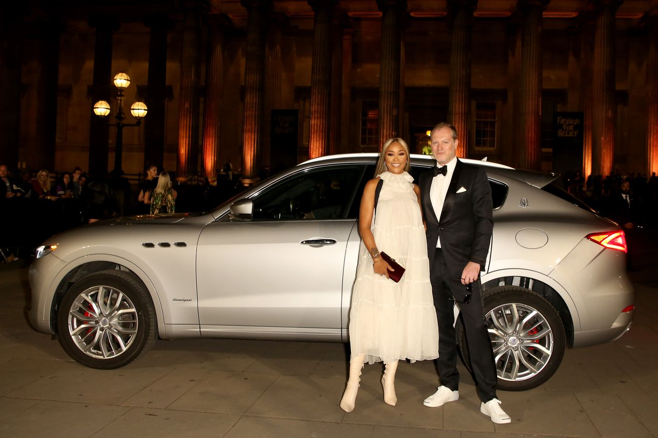 Eve and Maximillion Cooper arrive in a Maserati to Fashion For Relief at The British Museum on September 14, 2019 in London, England. | Source: Getty Images