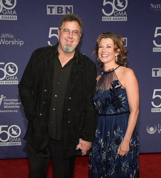 Vince Gill and Amy Grant at Lipscomb University on October 15, 2019 in Nashville, Tennessee. | Photo: Getty Images
