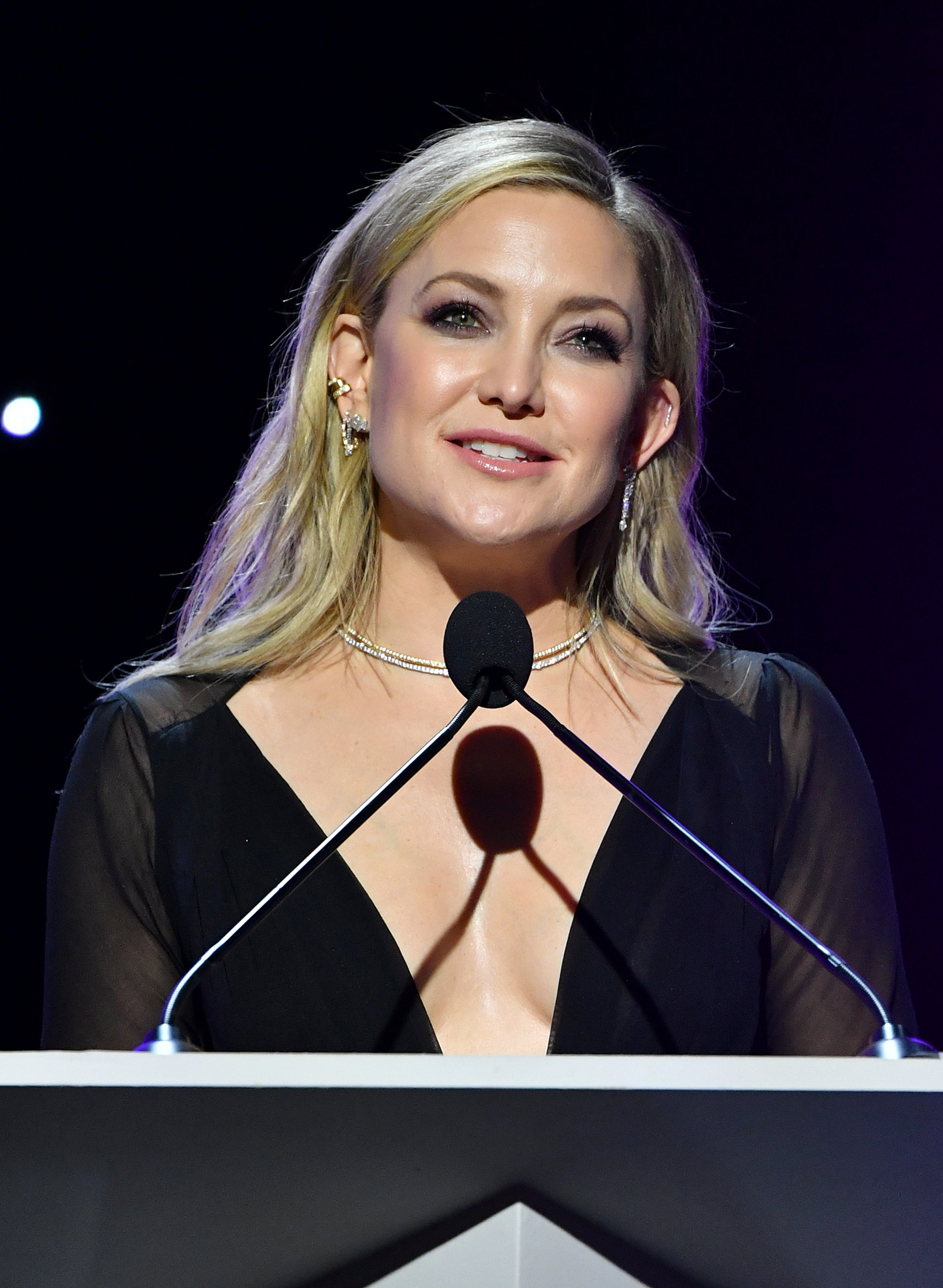 Kate Hudson onstage during the 2020 Writers Guild Awards West Coast Ceremony at The Beverly Hilton Hotel on February 01, 2020 in Beverly Hills, California   Source: Getty Images
