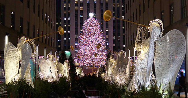 People Displeased as 75-Foot Christmas Tree Arrives in NY's Rockefeller Center — See Reactions