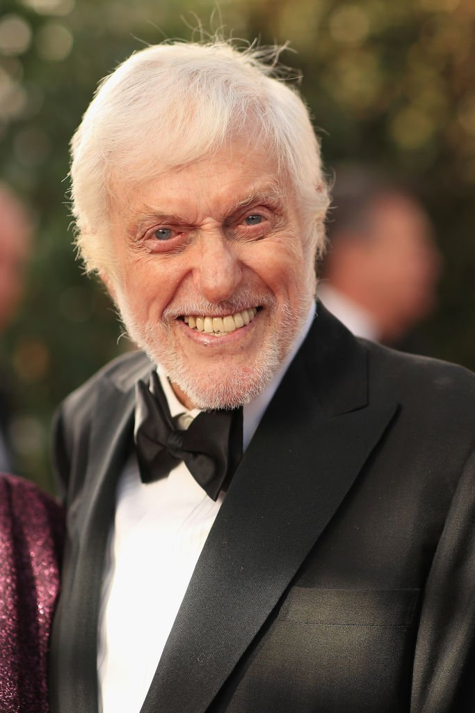Dick Van Dyke pictured at the 76th Annual Golden Globe Awards, 2019, in Beverly Hills, California.   Photo: Getty Images