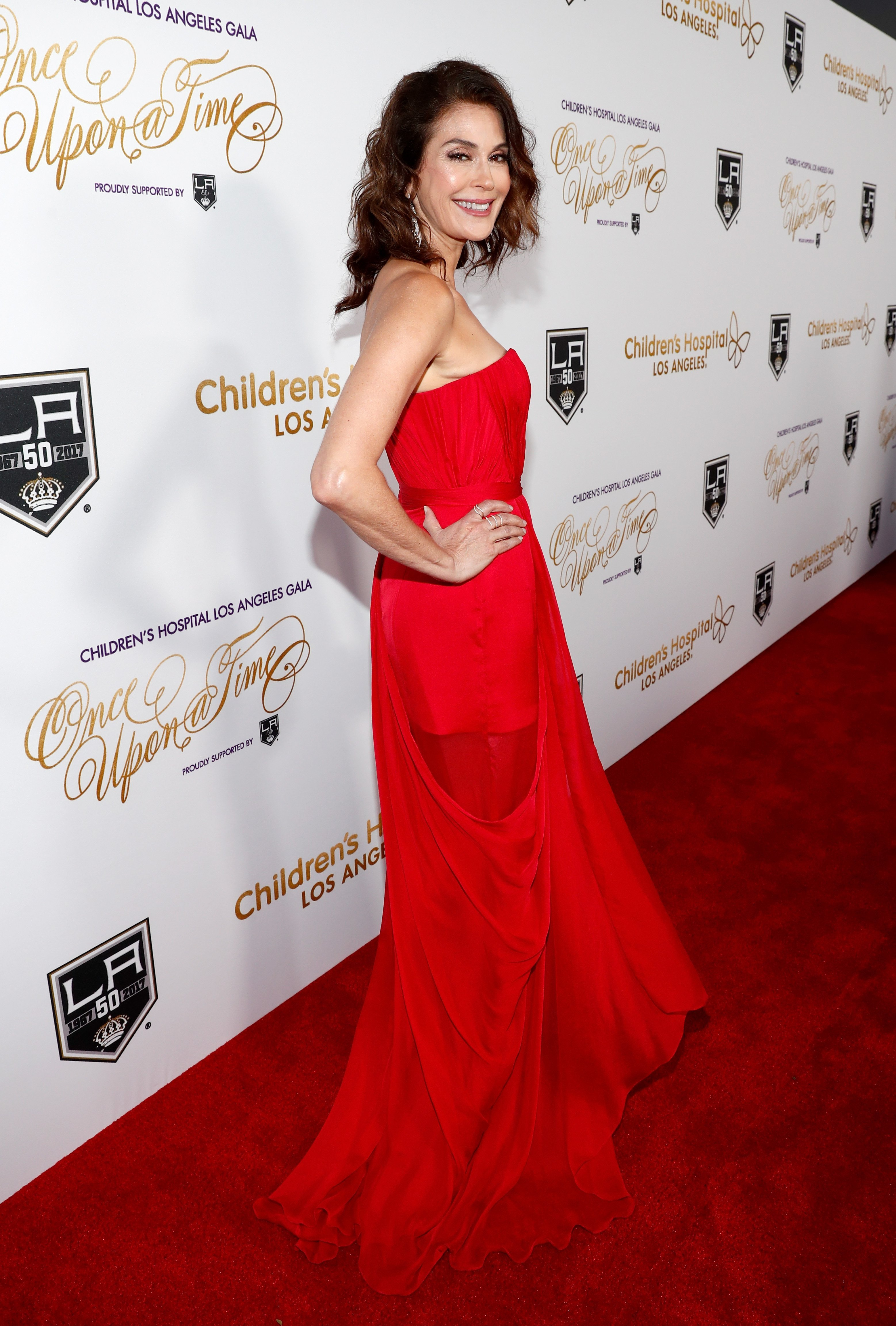 """Teri Hatcher attends 2016 Children's Hospital Los Angeles """"Once Upon a Time"""" Gala at The Event Deck at L.A. Live on October 15, 2016, in Los Angeles, California. 