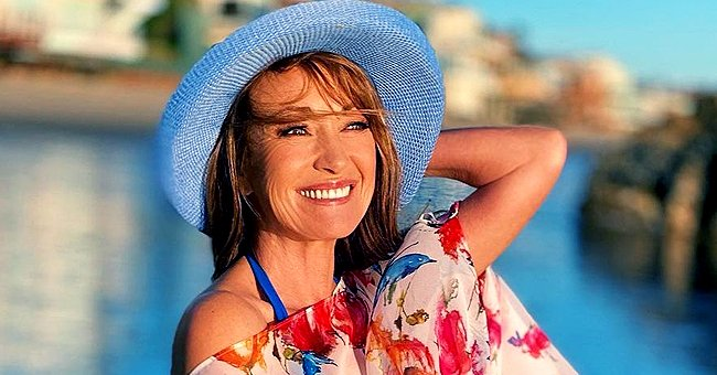 Jane Seymour, 69, Flaunts Her Flawless Figure in a Low-Cut Blue Swimsuit at the Beach — See Video