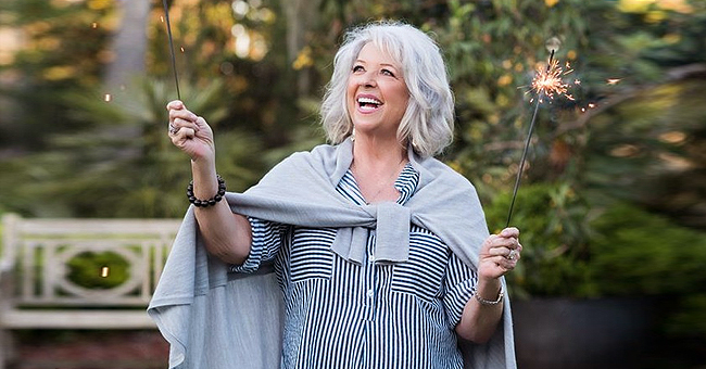 Paula Deen Poses with Son Jamie on his 52nd Birthday (Photo)