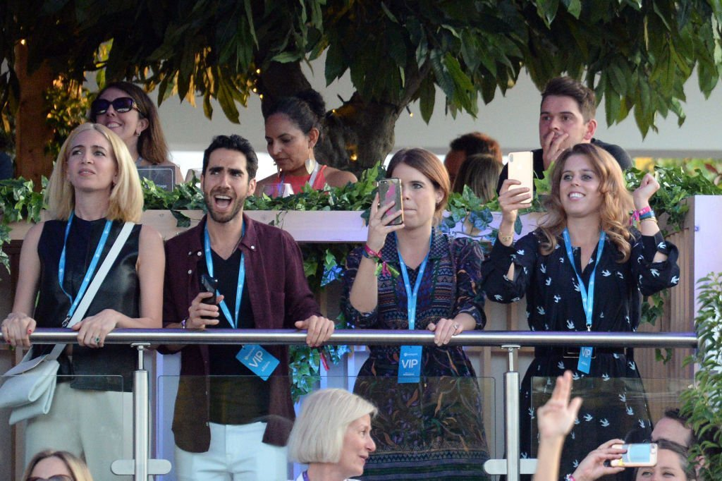 Princess Eugenie of York and Princess Beatrice of York attend Barclaycard Exclusive area at Barclaycard presents British Summer Time Hyde Park | Photo: Getty Images