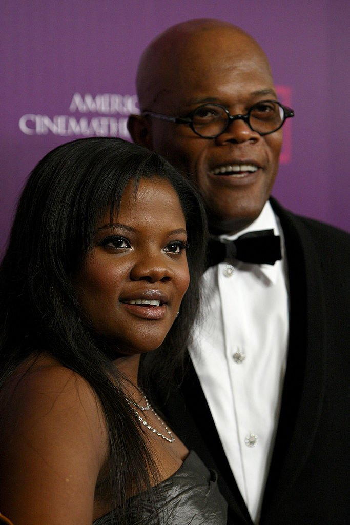 Samuel L. Jackson and daughter Zoe Jackson arrive at the 23rd annual American Cinematheque show on December 1, 2008 | Photo: Getty Images