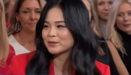 """Kelly Marie Tran talking about the force of women in """"Star Wars: The Rise of Skywalker"""" on """"Good Morning America"""" 