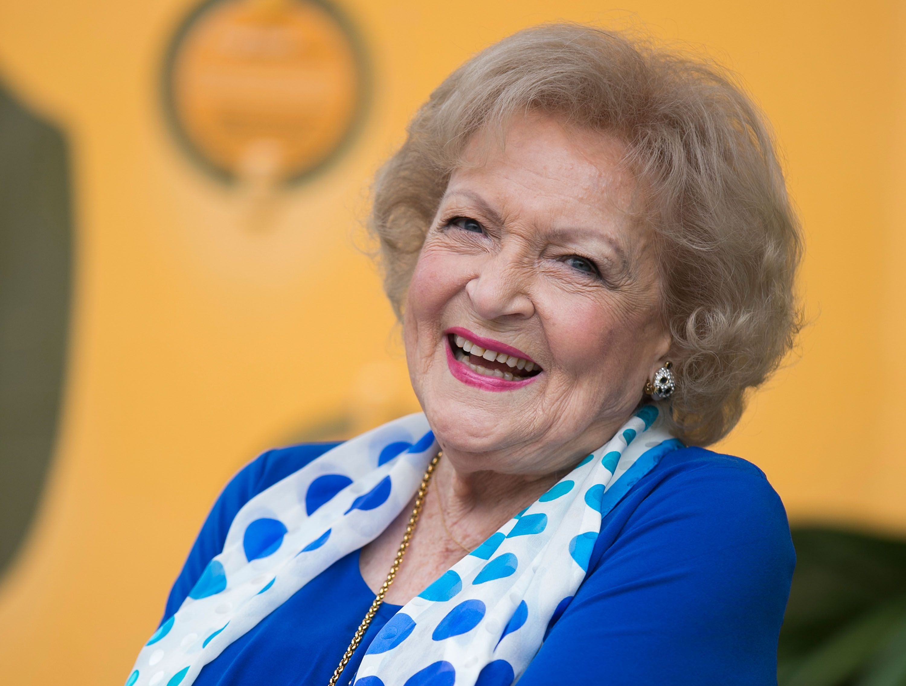 Betty White at the media preview for Greater Los Angeles Zoo Association's Beastly Ball fundraiser at Los Angeles Zoo on June 11, 2015 | Getty Images